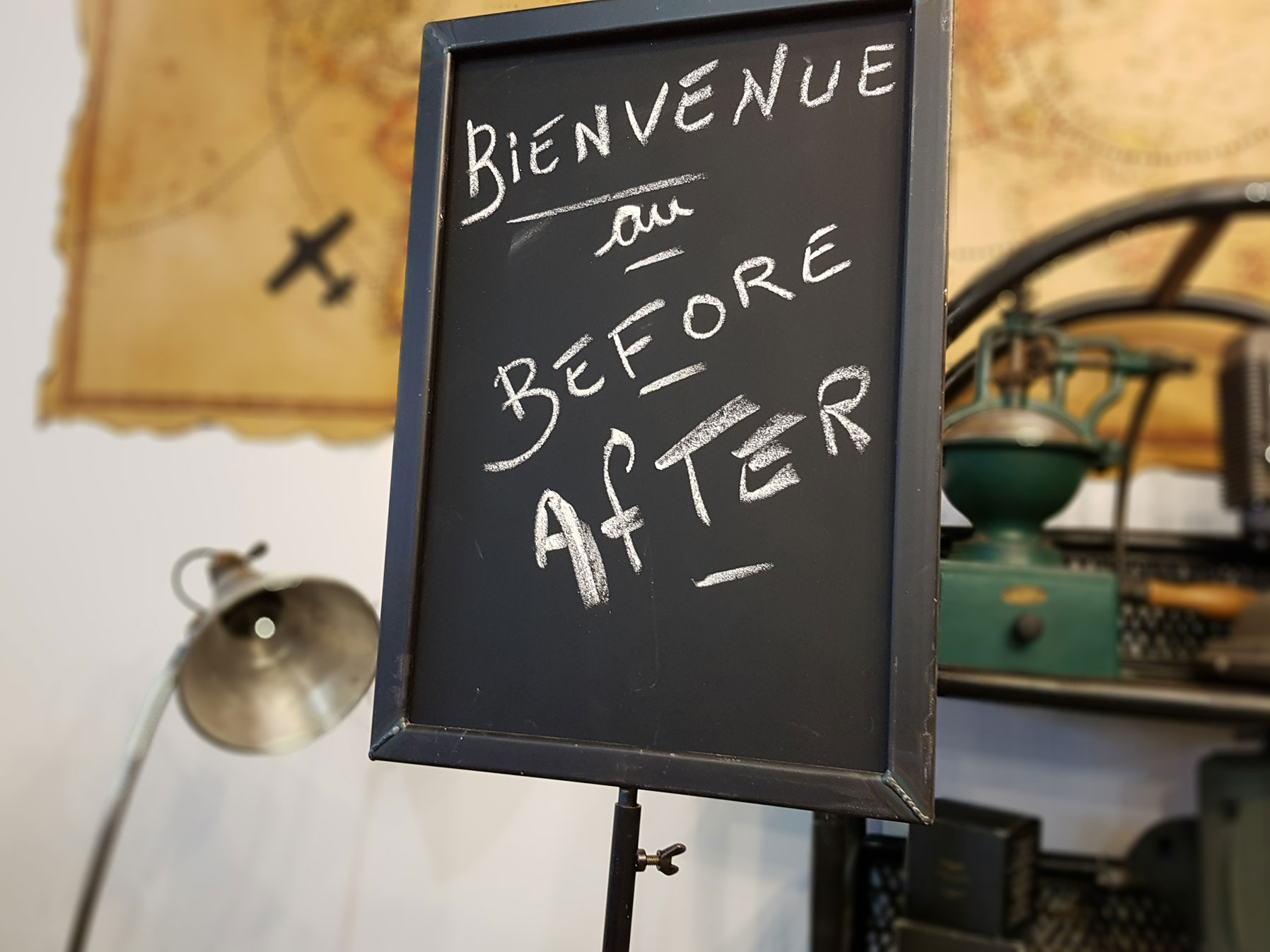 recrutement before after coffee